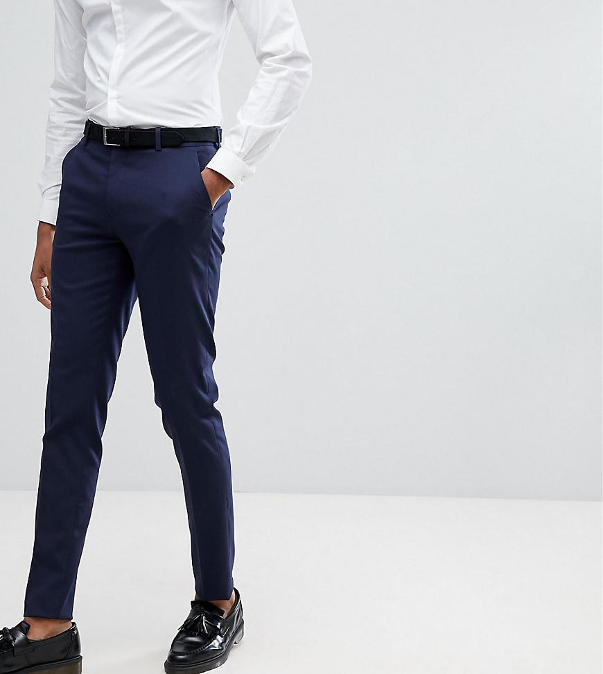 Discount Hot Sale Outlet Locations Cheap Price TALL Slim Smart Trousers In Navy - Navy Asos Shopping Online Buy Cheap Buy nJ06elJN9v