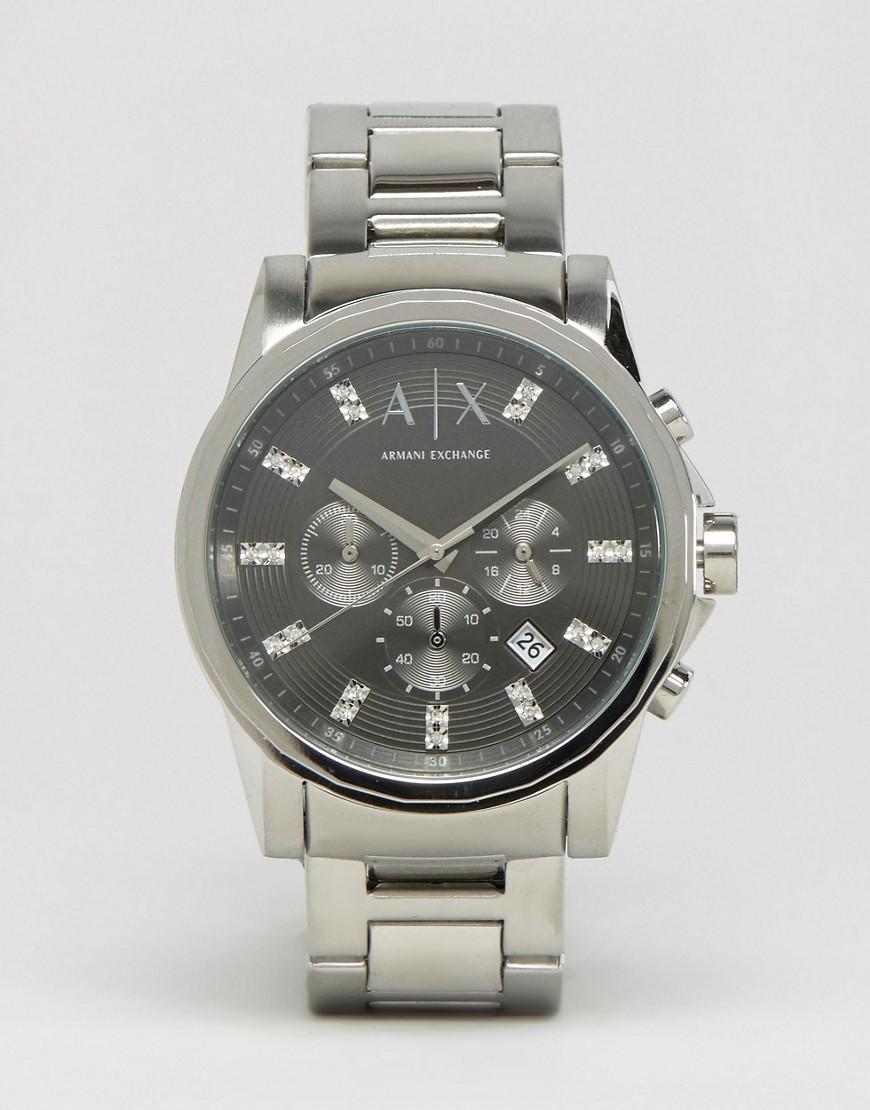 bad90588da87 Reloj con correa de acero inoxidable AX2092 de Armani Exchange de ...