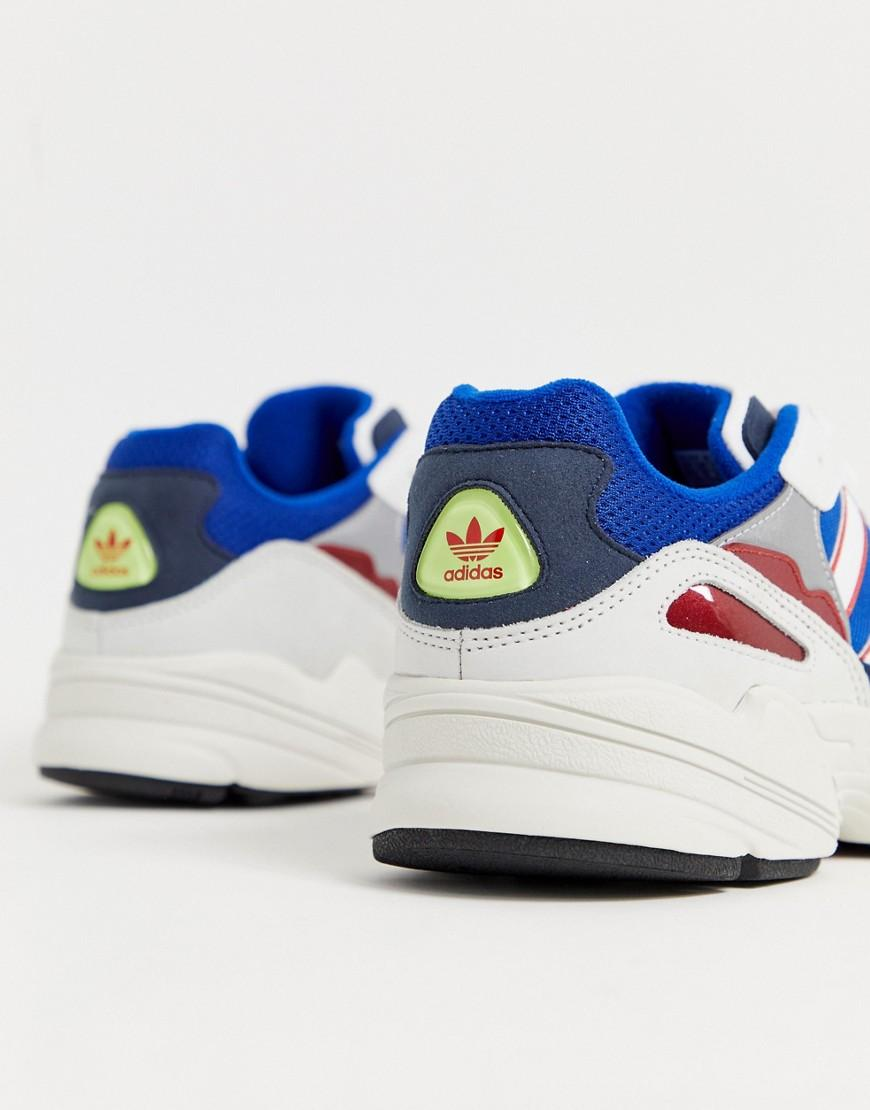 huge discount 2c844 445e7 adidas Originals Yung-96 Trainers In Blue in Blue for Men - Lyst