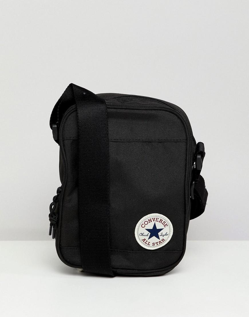 3836e41953 Converse Flight Bag In Black 10003338-a01 in Black for Men - Lyst