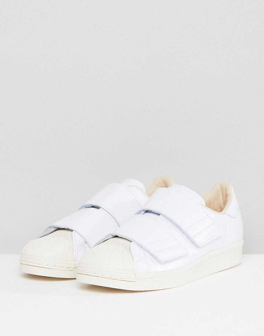 9fc1c9280fcc adidas Originals Superstar 80s Comfort Sneakers In White in White - Lyst