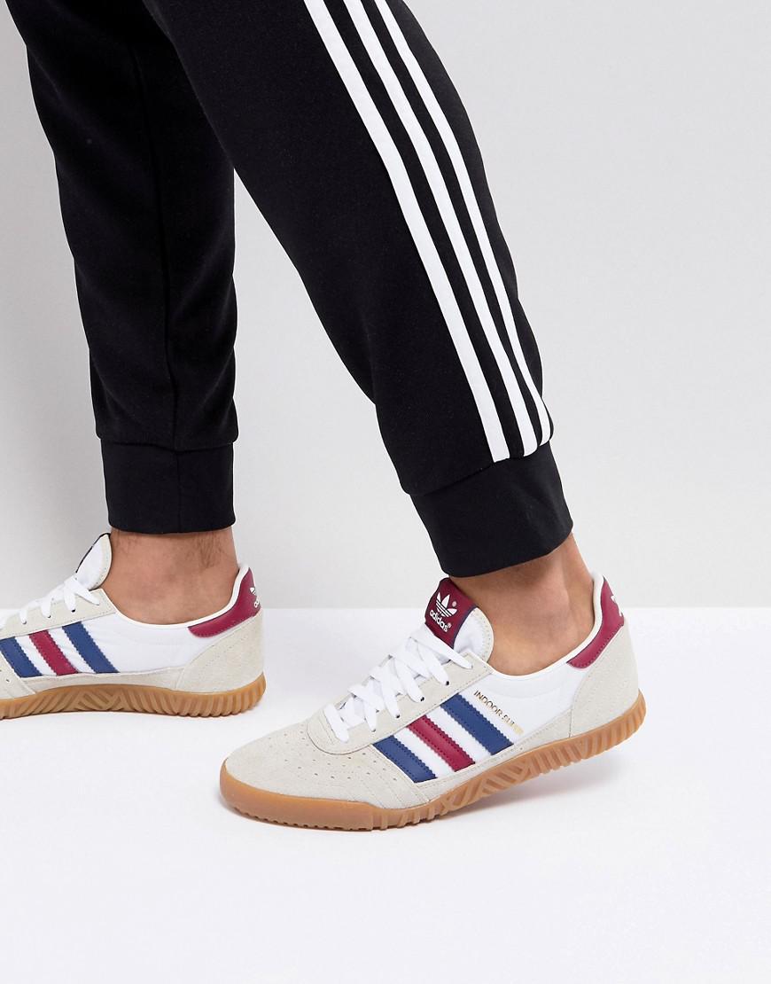 lyst adidas originali in super sneakers bianche cq2222 in