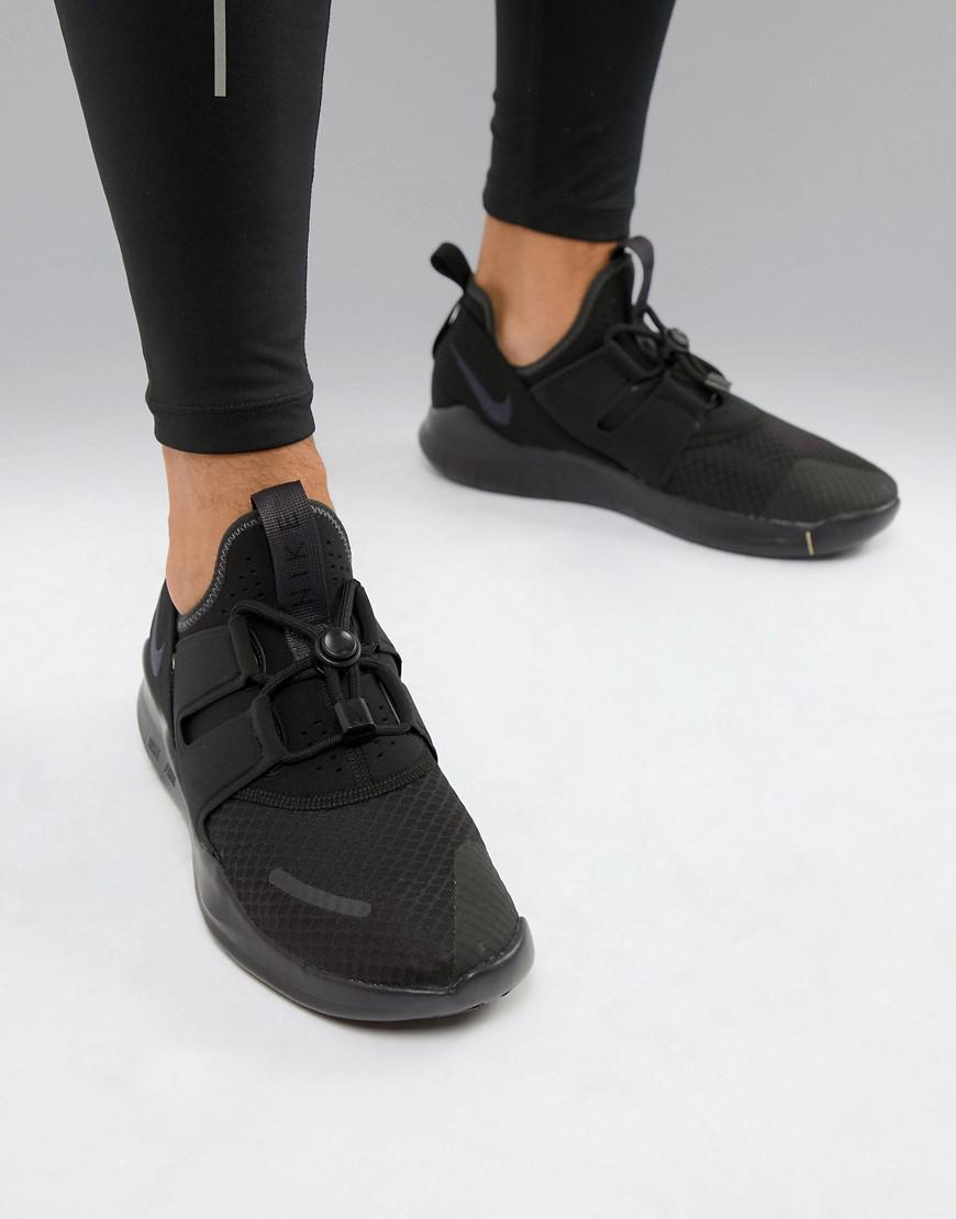 reputable site 93f5c 970a1 Nike Free Run Commuter 2018 Sneakers In Triple Black Aa1620-
