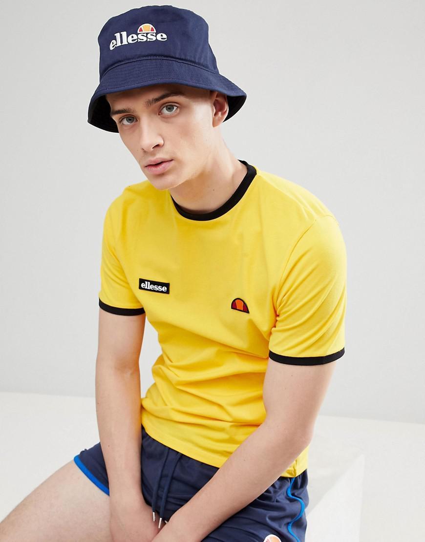 c5e339e6280 Lyst - Ellesse Binno Bucket Hat In Navy in Blue for Men
