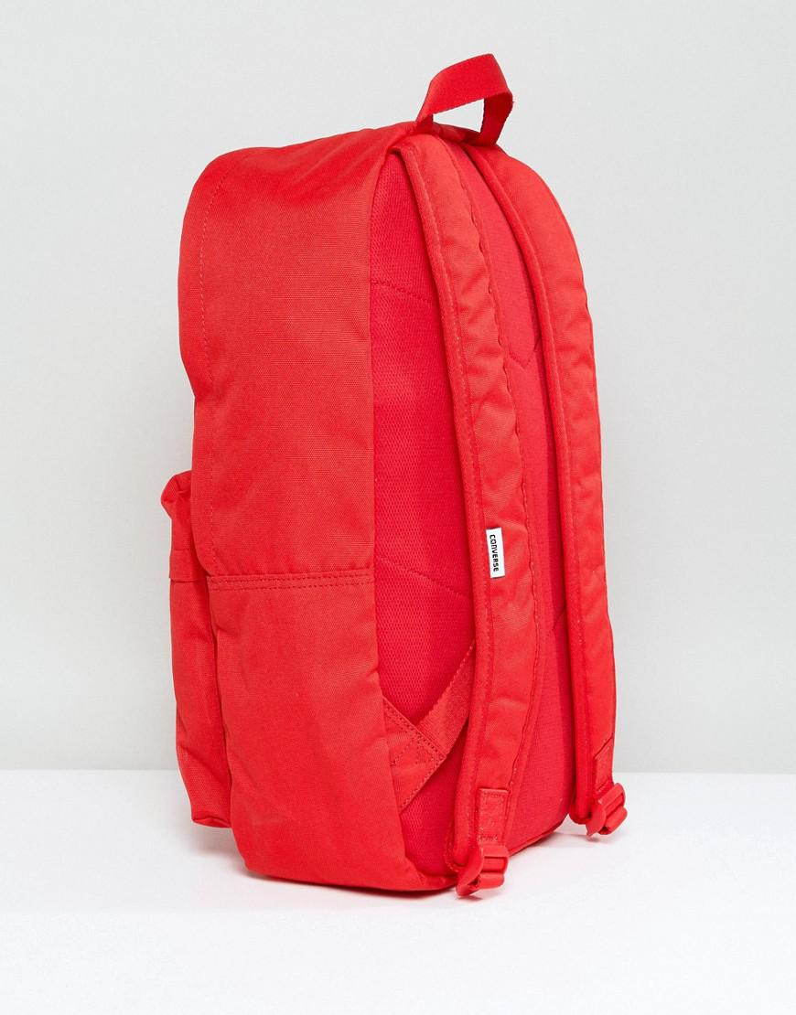 1c1caacb57 Converse Chuck Taylor Patch Backpack In Red in Red for Men - Lyst