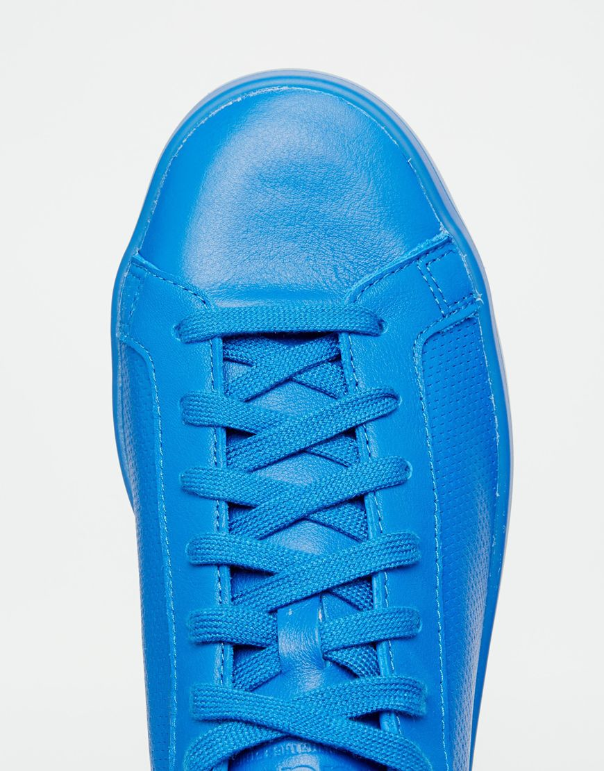 low priced a4ef0 a324a Lyst - adidas Originals Court Vantage Adicolor Sneakers In B
