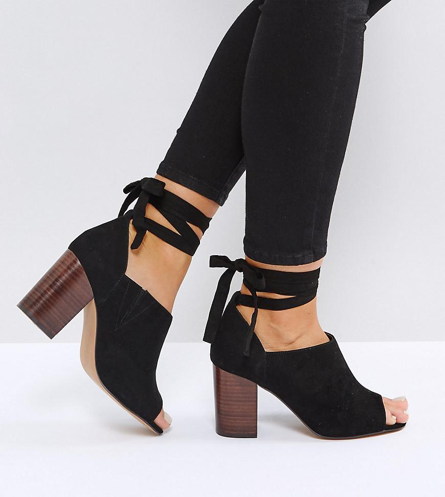 ORNAMENT Heeled Shoes - Black Asos
