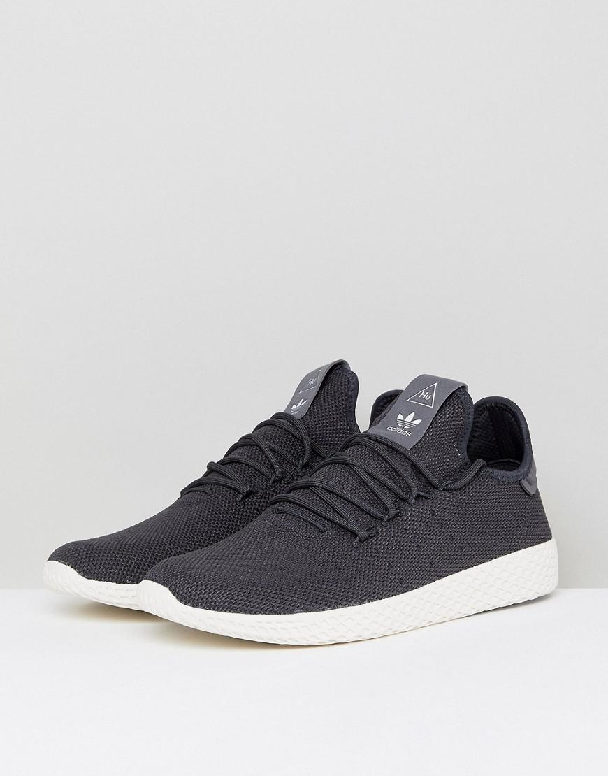 Lyst - adidas Originals X Pharrell Williams Tennis Hu Sneakers In Gray  Cq2162 in Gray for Men e092df737