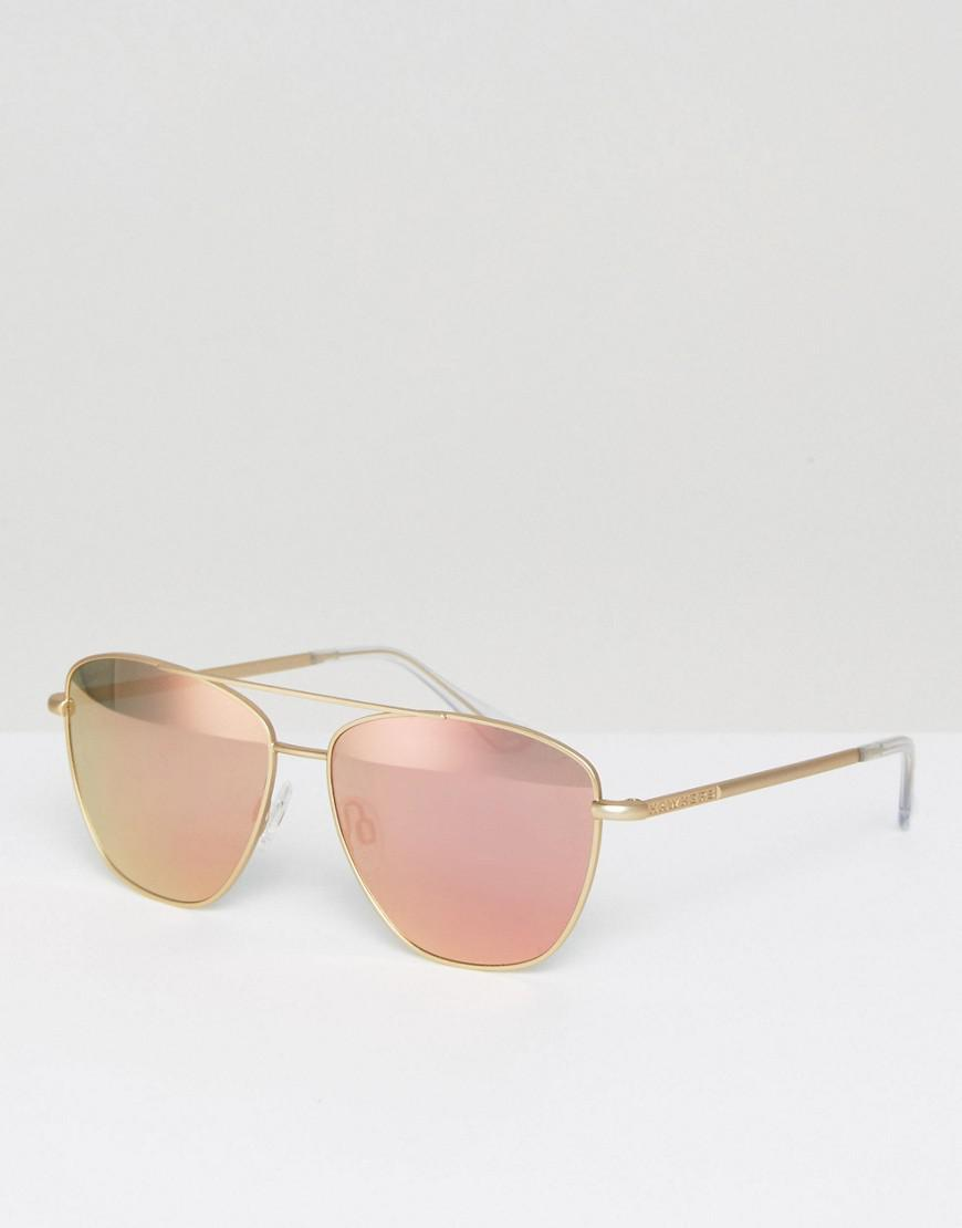 91dd10f09 Hawkers Hawkers Karate Rose Gold Lax Sunglasses in Metallic for Men ...