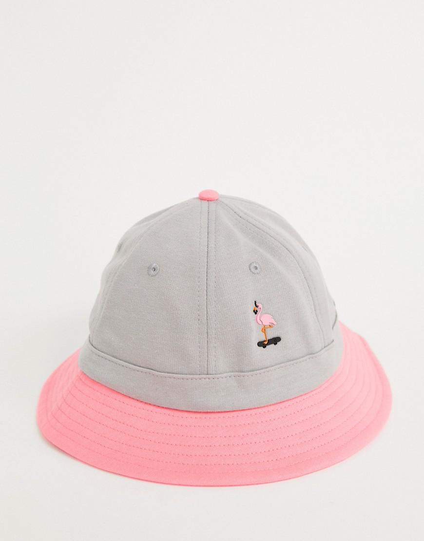 RIPNDIP Ripndip Beaches Bucket Hat In Pink And Grey in White for Men - Lyst cc1a2cccc3e4