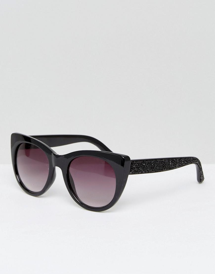 9f5a8d9c68 Lyst - ALDO Choewen Cat Eye Sunglasses in Black