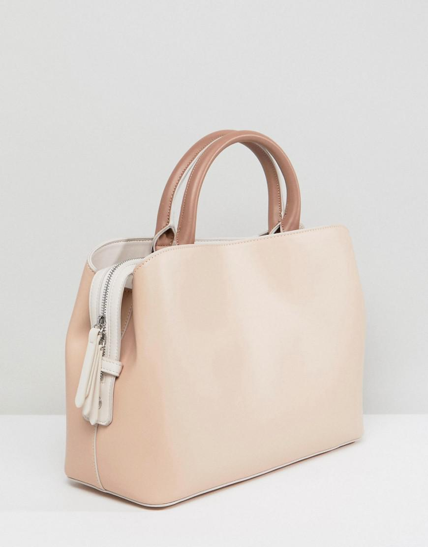 Fiorelli - Natural Bethnal Triple Compartment Tote - Lyst. View fullscreen