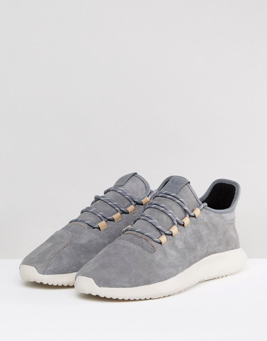 online retailer 725ce 98c2d adidas Originals Tubular Shadow Trainers In Grey By3569 in ...