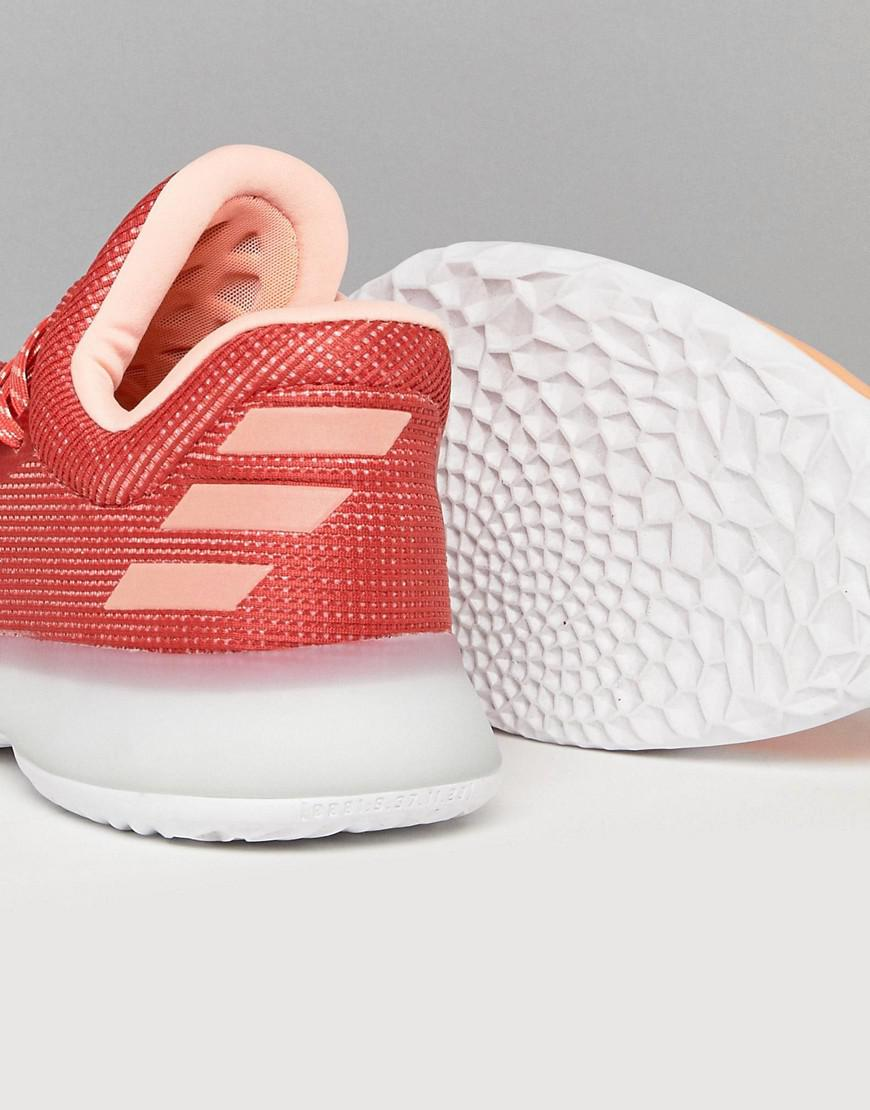 5c249913a410 Lyst - adidas Basketball X Harden Vol 1 Dawn Sneakers In Red Ah2119 ...