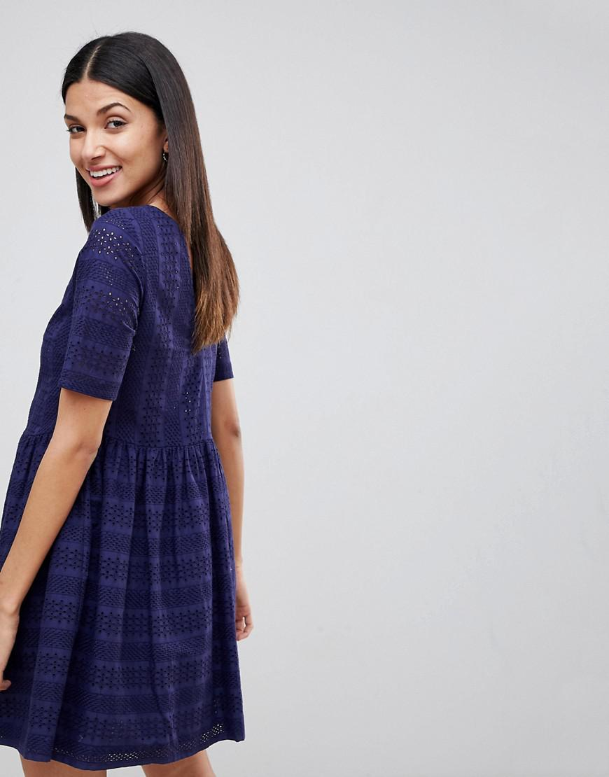 Asos Mini Smock Dress ...