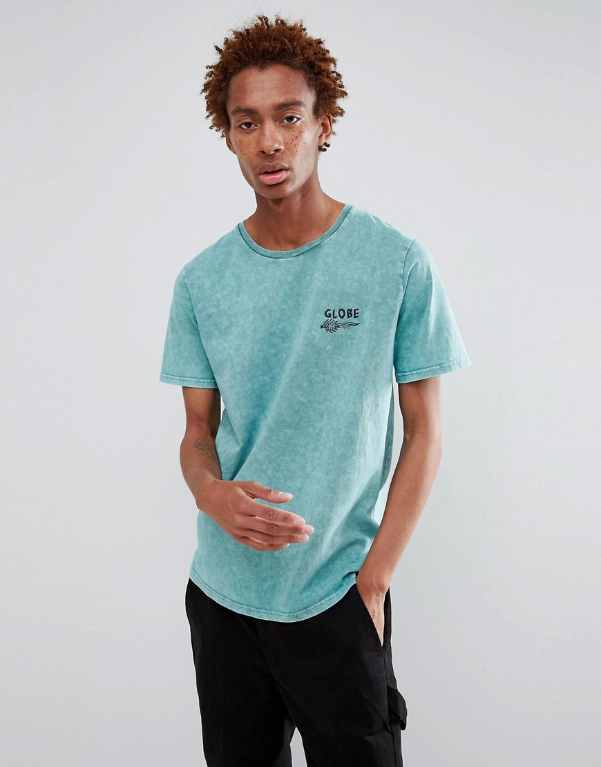 Outlet 2018 Howler Back Print T-Shirt in Blue - Blue Globe Authentic Online fM5Z9