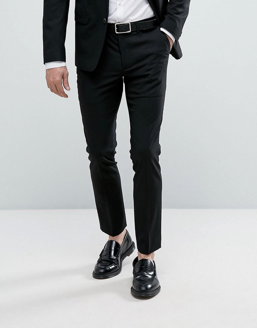 Look Slim Costume Noir Homme De Pour New Lyst Pantalon En Coloris wH7xqX
