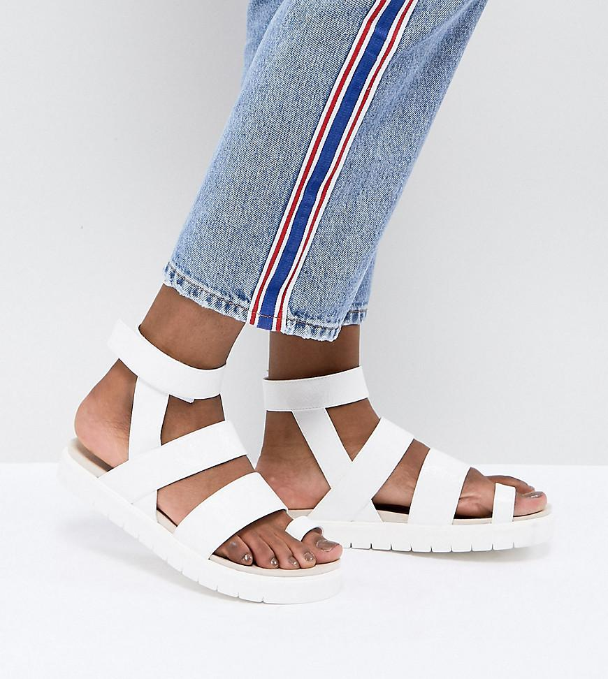 Monki Multi strap sandals in twLjj