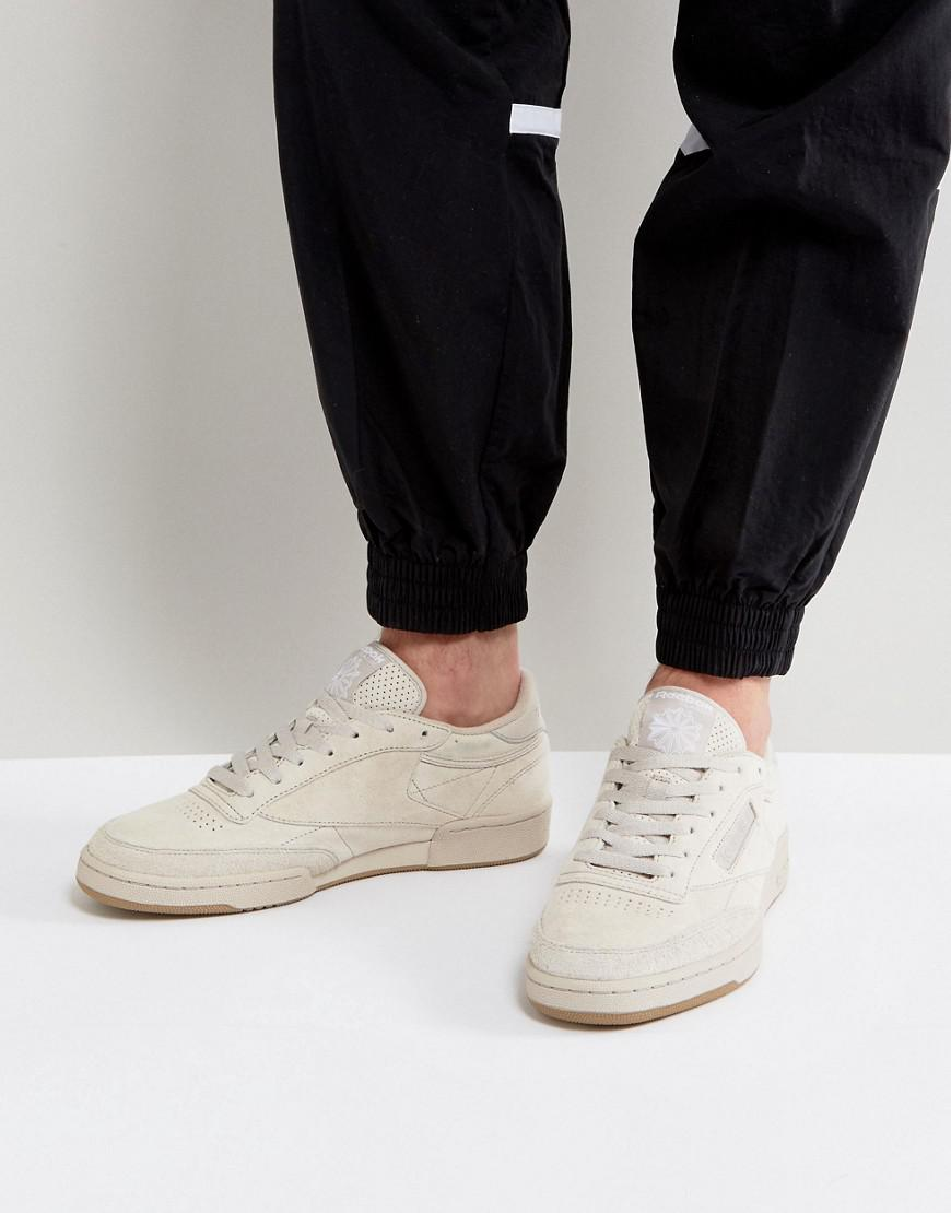 2671aa0438dc0 Reebok Club C 85 Sg Trainers In Tan Bs7891 for Men - Lyst