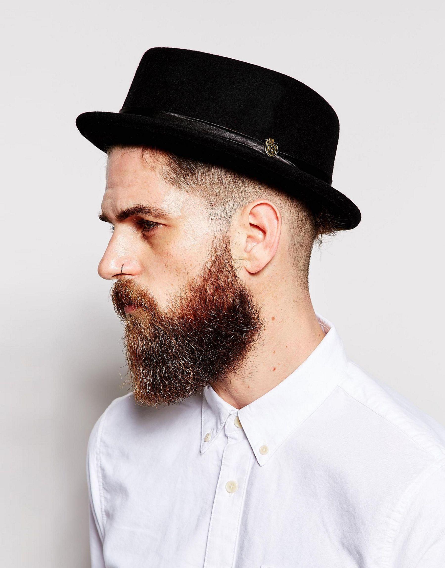 7d7a8ea605c ... Lyst - Brixton Stout Pork Pie Hat - Black in Black for Men new images  of ...