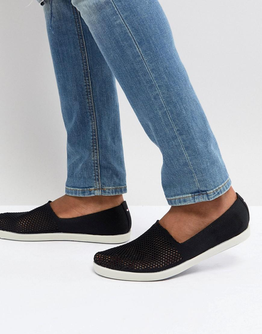 Tommy Hilfiger Easy Summer Canvas Slip On Espadrilles in Navy cheap sale cheapest price outlet cost mT74B1