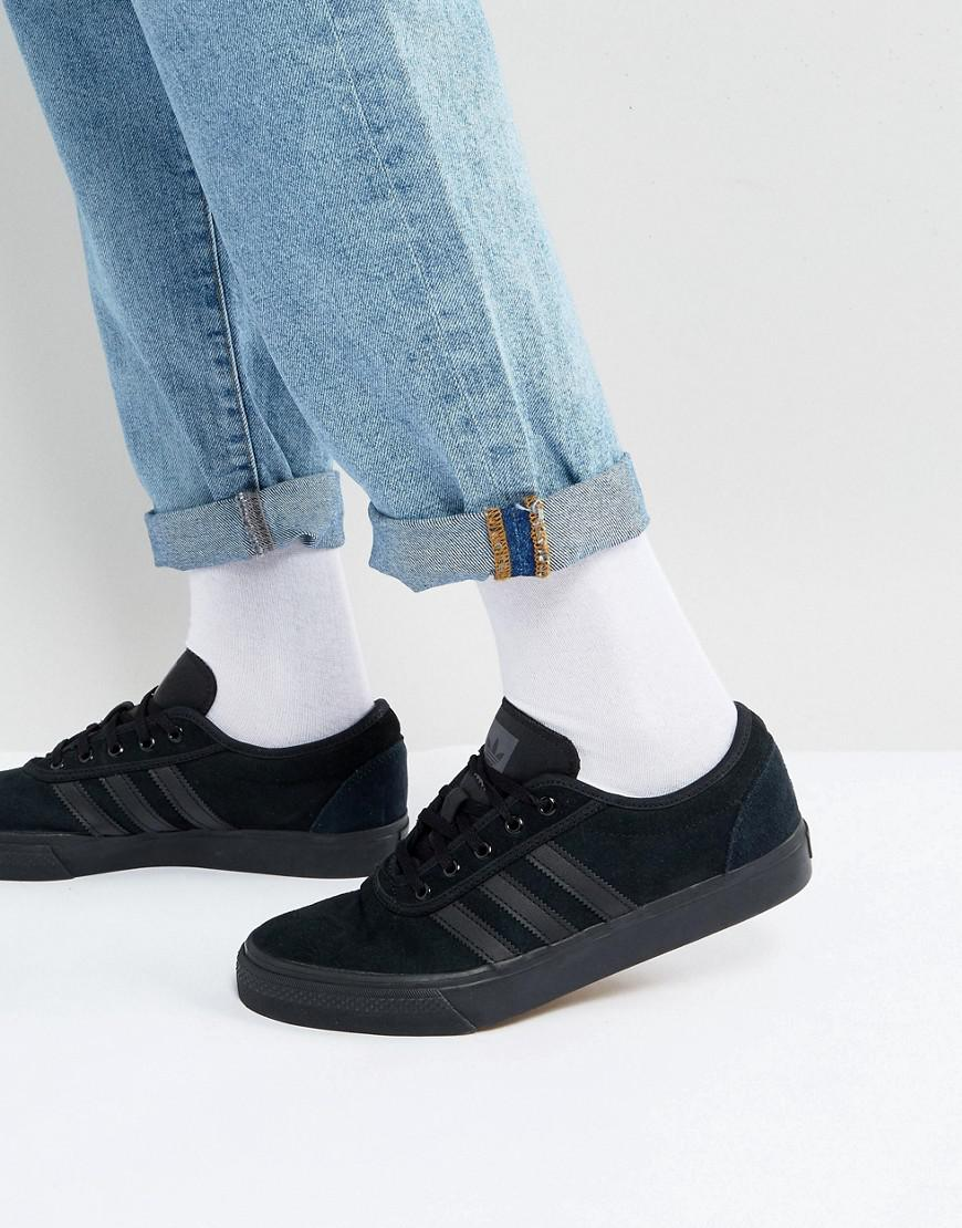 a936811d6e676 Adidas Originals - Adi-ease Trainers In Black By4027 for Men - Lyst. View  fullscreen