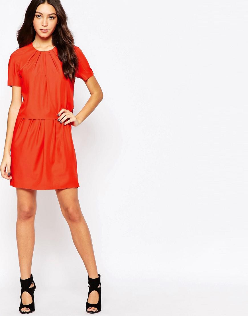 Trine Twofer Dress - Red Y.A.S 45tTeEk