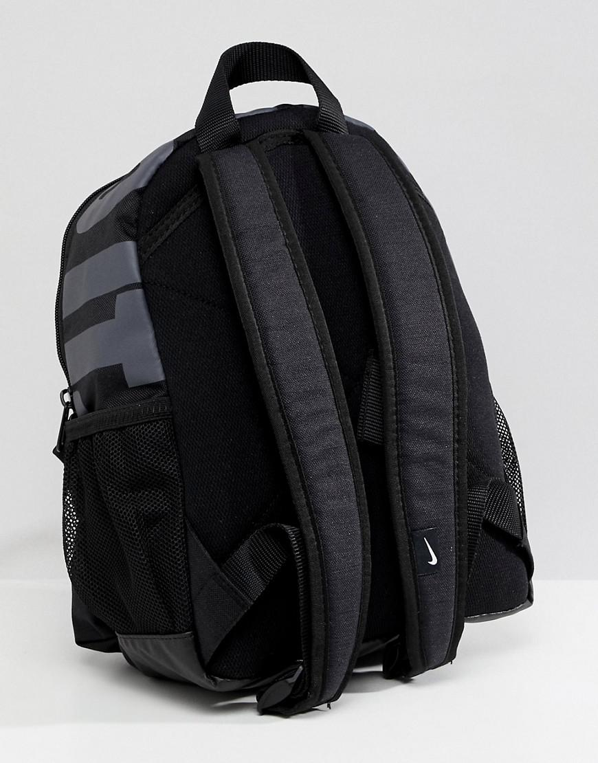 fad9cb0c7d Nike Black Just Do It Logo Mini Backpack in Black - Lyst