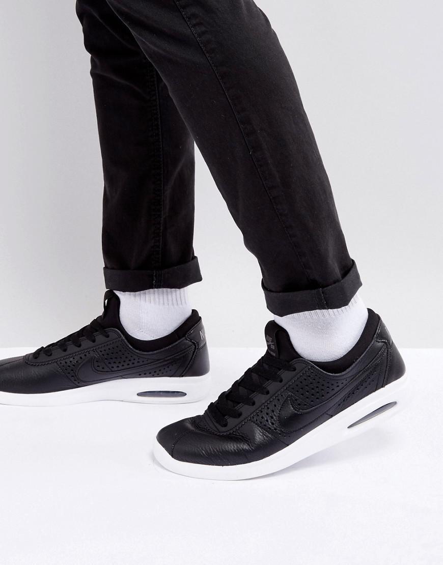 e969f342d6f Nike Bruin Max Vapor Leather Trainers In Black 923111-001 in Black ...