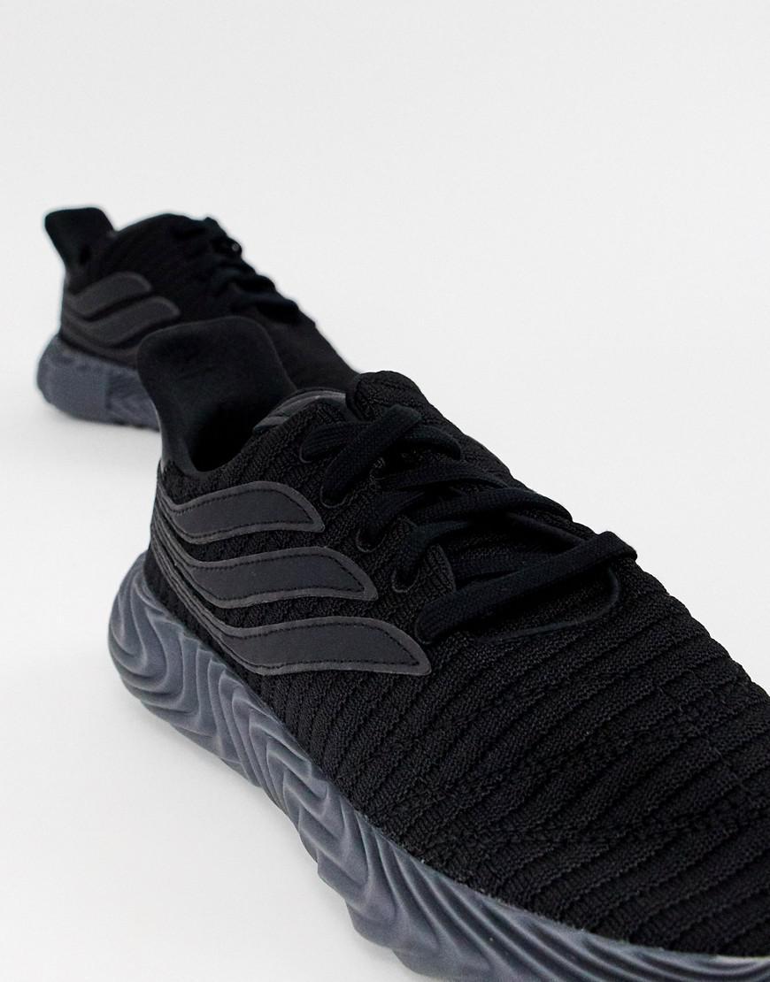 best website 99183 d4298 adidas Originals Sobakov Sneakers Triple Black in Black for Men - Lyst
