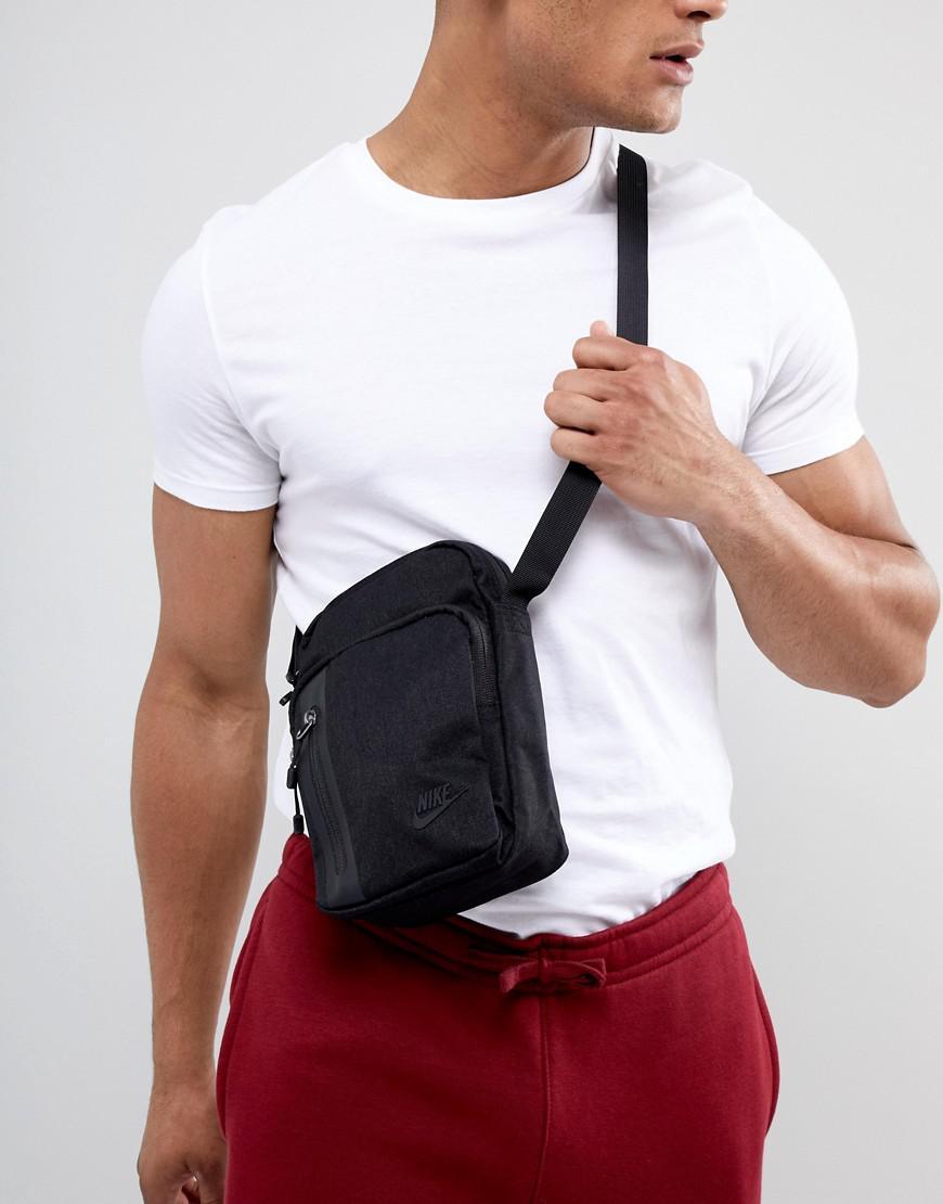 cf1d16303c Nike Flight Bag In Black Ba5268-010 in Black for Men - Lyst