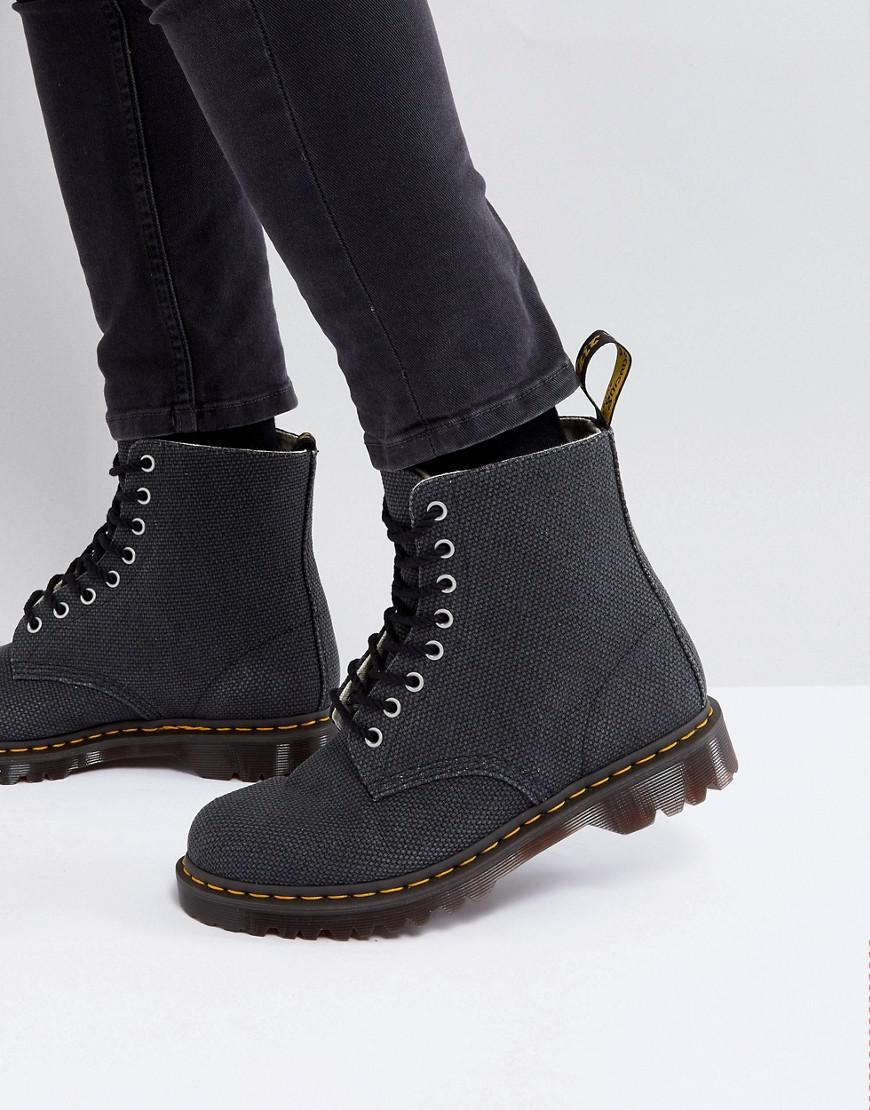 Lyst Eye Boots Dr Black For Heavy In 8 Martens Canvas Pascal Men ZIr7Zx6