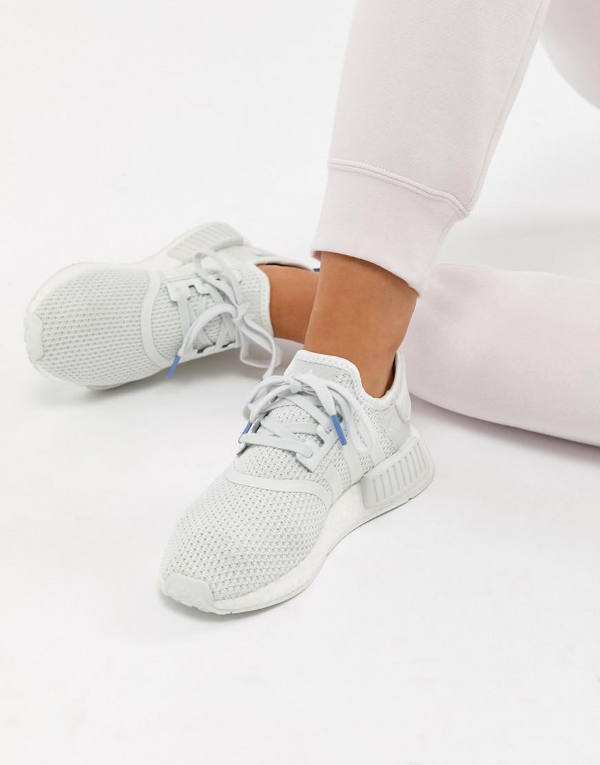36c0e0474d45e3 adidas Originals Nmd R1 Sneakers In White in White - Lyst