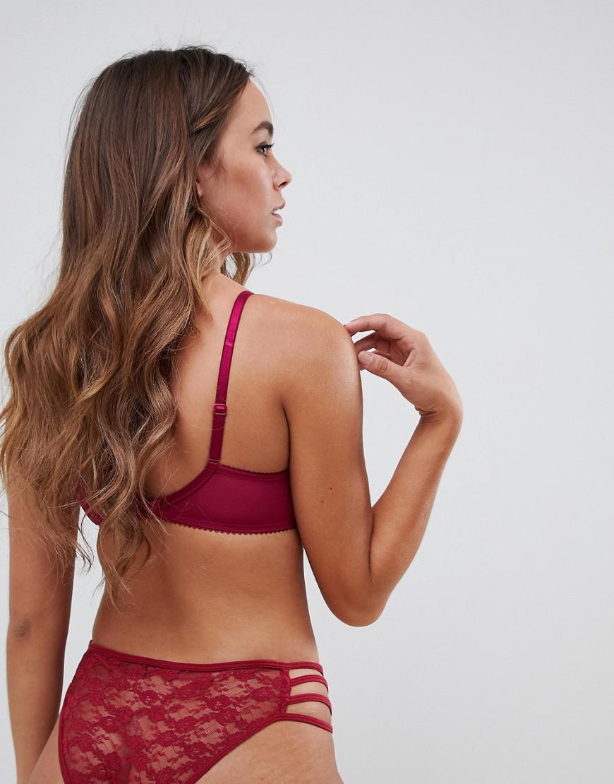09d7815b66 Gossard Lace Bra In Ruby in Red - Lyst