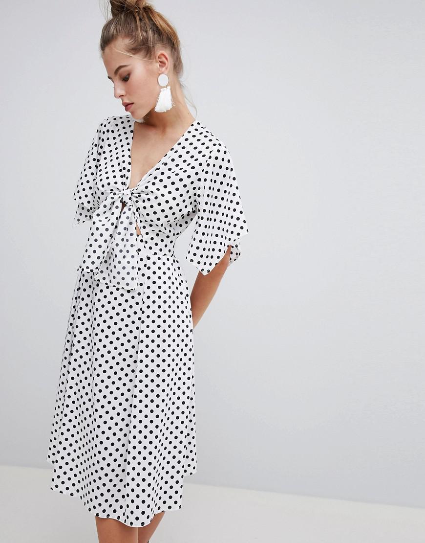 5ed3bd9ba3be9 Gallery. Women's Polka Dot Dresses Women's Zip Front ...