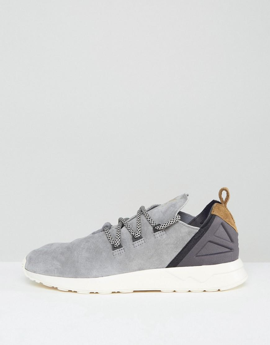Adidas Originals ZX flujo ADV x zapatillas de deporte en color gris en gris para hombres Lyst