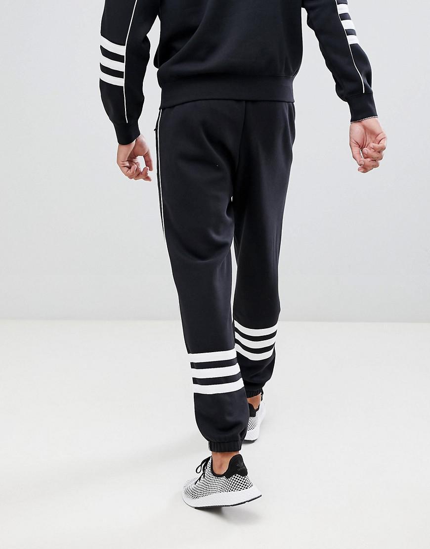 Lyst - Pantalon de jogging adidas Originals pour homme en coloris Noir 60cc2f9f309