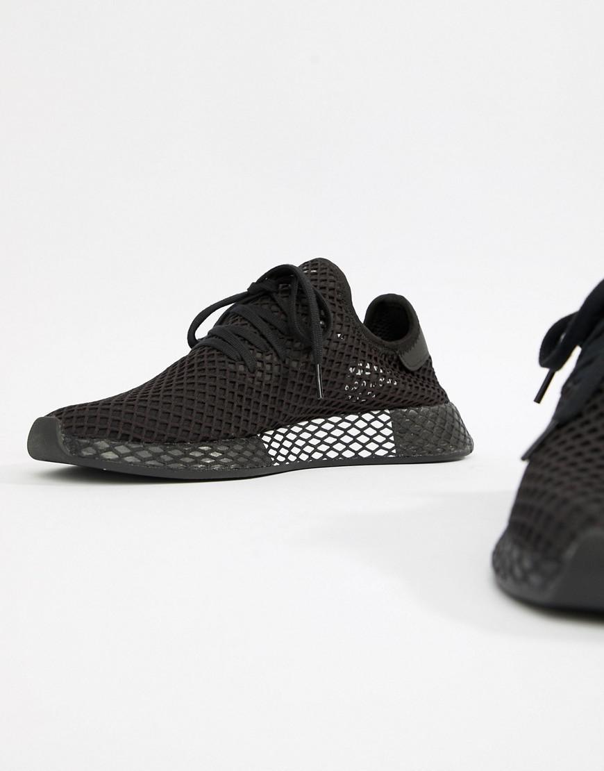 a7a939330 Lyst - adidas Originals Deerupt Sneakers In Black B41768 in Black ...