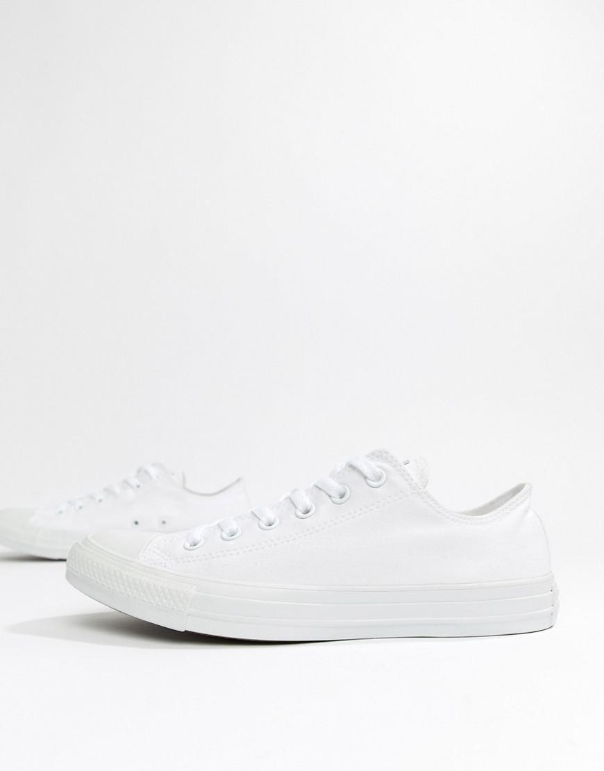 517b96caeca2 Converse All Star Ox Plimsolls In White 1u647 in White for Men - Lyst