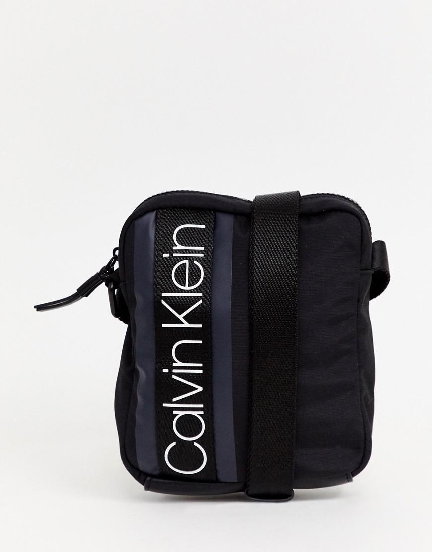 ... Black Logo Flight Bag for Men - Lyst. View fullscreen 517d952db2e0a