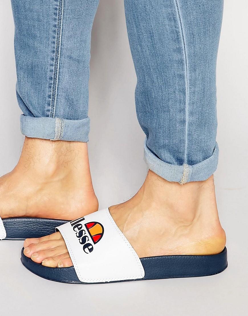 Lyst Ellesse Monaco Slider Sandals In Black
