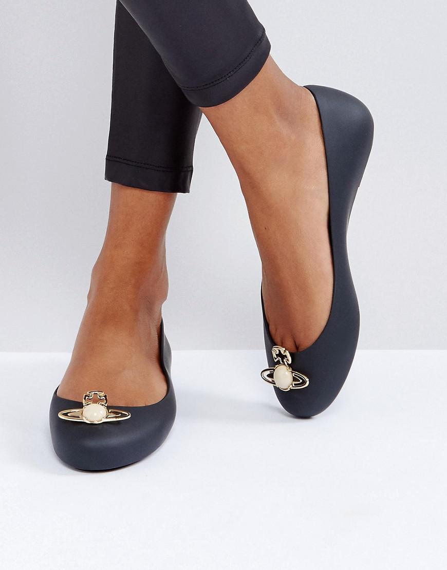 Black Melissa Shoes Vivienne Westwood