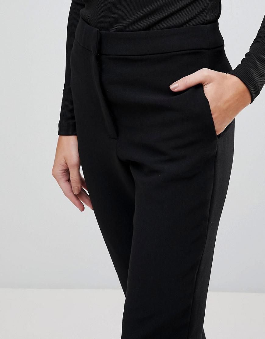 Huntr Cropped Trousers - Black Finders Keepers 9AG36eL