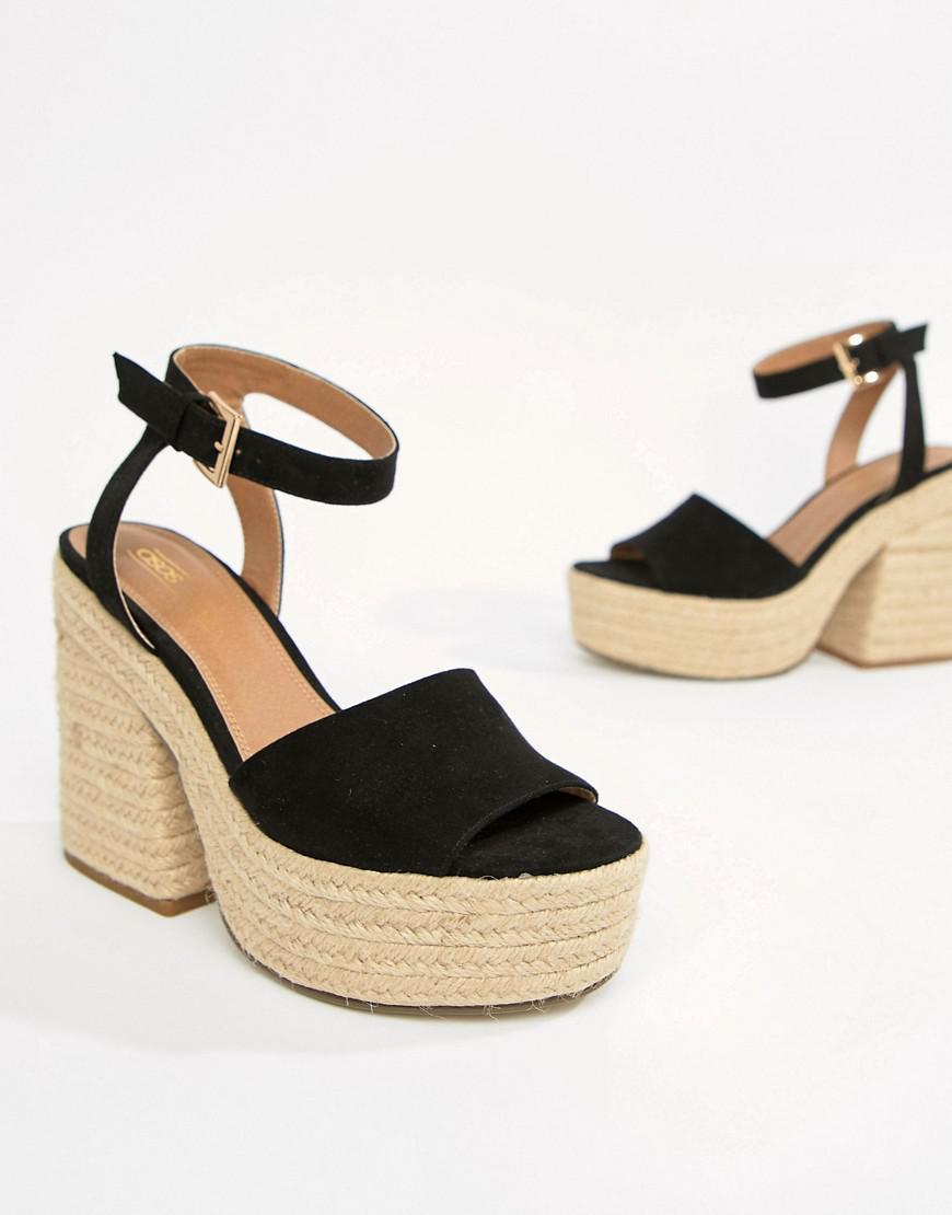 discount order DESIGN Turbulence Chunky Espadrille Sandals under $60 cheap marketable HAwGxeG04