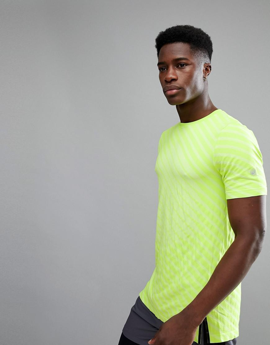 7ad1ec7d1 Asics Running Seamless T-shirt In Volt Yellow 146396-0432 in Green ...