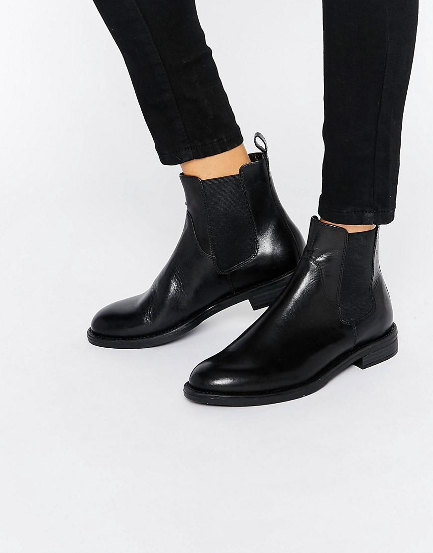 Vagabond Amina Black Leather Chelsea Boots clearance clearance best place sale online Y30gne