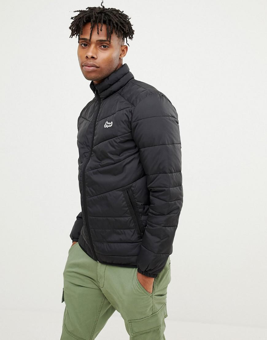 2c3aae05d3b0d6 Lyst - Jack   Jones Originals Puffer Jacket in Black for Men