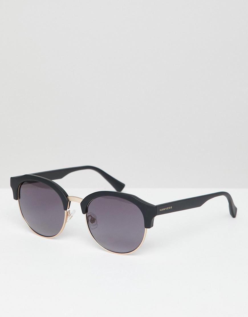 Hawkers Sunglasses - Hawkers Round Rubber Sunglasses In Black for Men -  Lyst. View fullscreen 2b4bf2aa570
