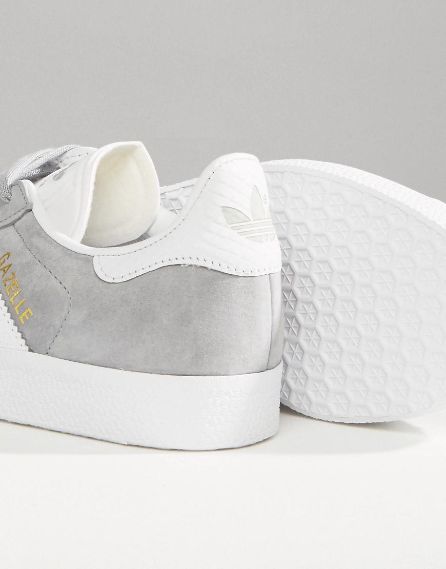 Lyst adidas originali originali gray gazzella scarpe con snake
