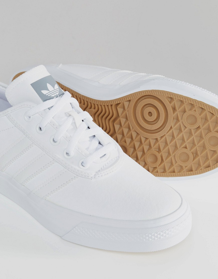huge selection of 3d7de 1270b Lyst - adidas Originals Adi-ease Leather Sneakers In White D69229 - White in  White for Men